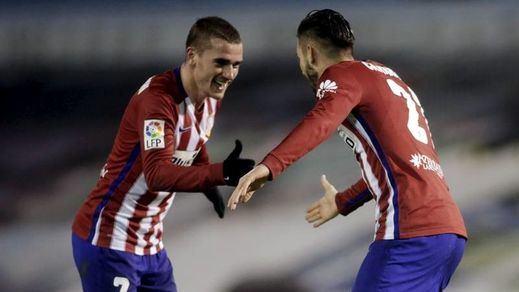 El Atlético va en serio: vence al Celta y se proclama campeón de invierno (0-2)