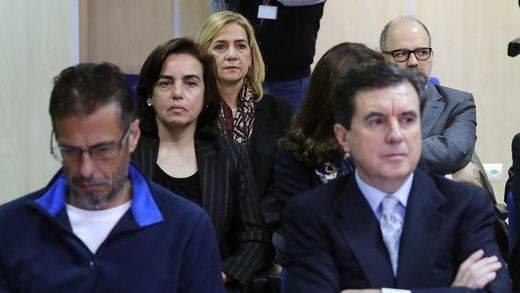Arranca el histórico juicio del 'caso Nóos' con la imagen de la infanta Cristina sentada en el banquillo de los acusados