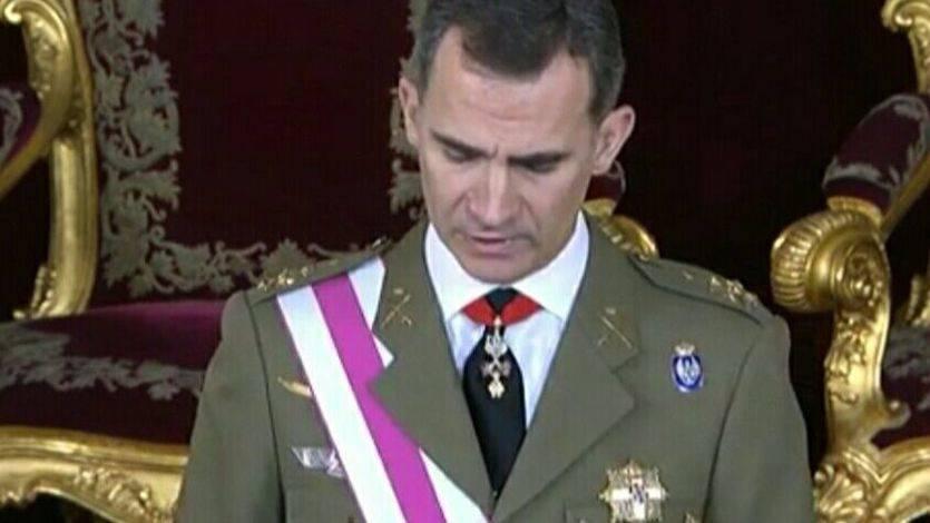 Rey en la Pascua Militar