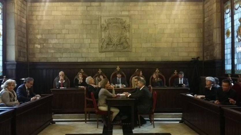 Puigdemont en la Generalitat de Cataluña