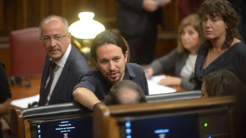 Los emergentes se estrenan en el Congreso: del enfado de Podemos al optimismo de Ciudadanos