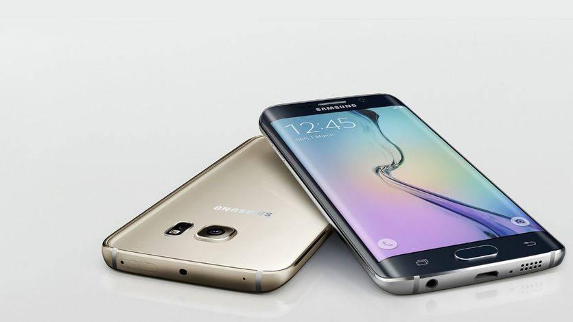 Modelo anterior de Samsung, el Galaxy S6 Edge