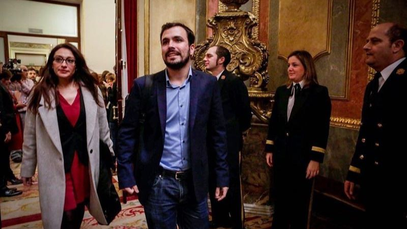 IU buscará formar grupo parlamentario con Compromís si se bloquean los 4 de Podemos
