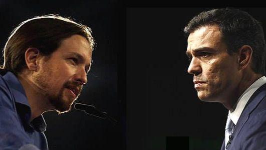 Pedro y Pablo siguen con su 'matrimonio mal avenido' tras la 'pataleta de niño pequeño' del líder de Podemos