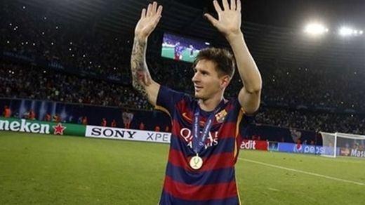 El Barça respira: Messi sólo sufre