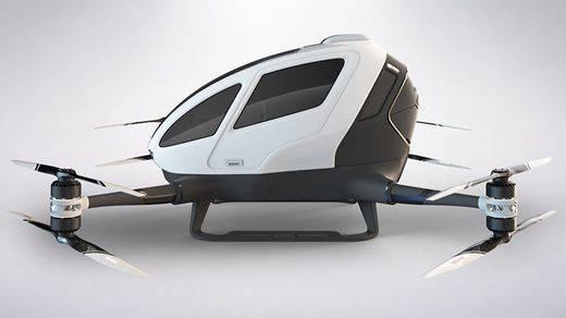 Ehang 184, el dron que transporta pasajeros