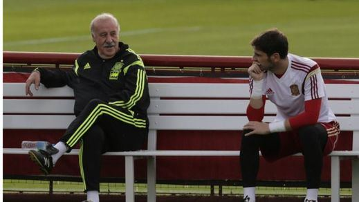 Del Bosque defiende a Casillas ante sus últimos grandes fallos:
