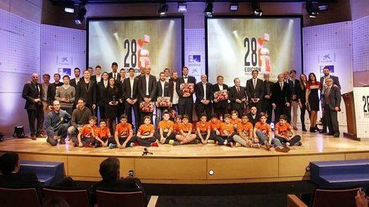 El Real Madrid, protagonista en la entrega de los Premios Gigantes de baloncesto