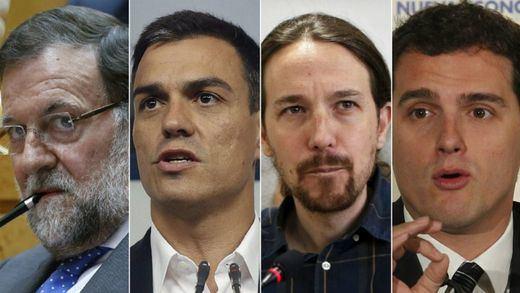 Confusión total sobre el futuro presidente: el PP ya tira la toalla, Ciudadanos cree que será Sánchez y Podemos juega al despiste