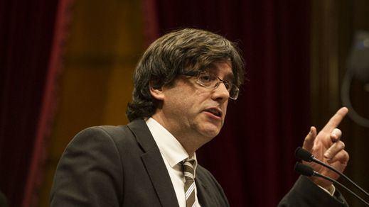 Puigdemont promete lograr la independencia: llevará a los catalanes