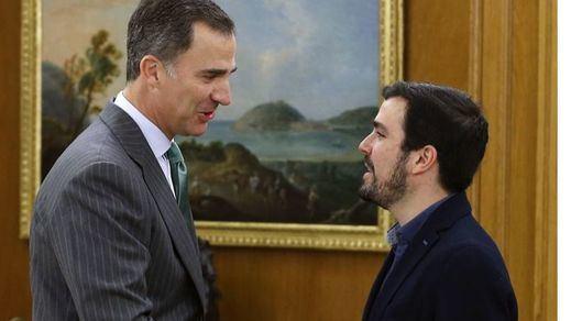 Alberto Garzón dice que no ve preocupado por la investidura al