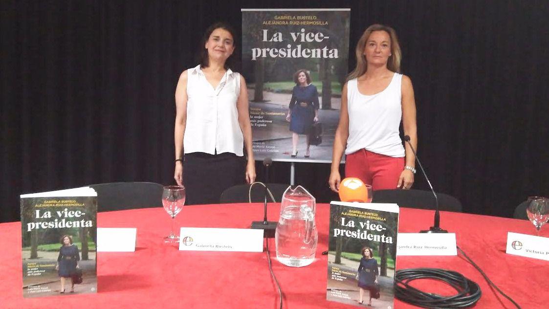 Publican 'La vicepresidenta', una biografía no autorizada de Soraya Sáenz de Santamaría