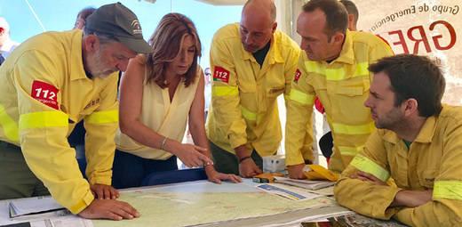El Gobierno andaluz no recalificará ni un solo metro de terreno quemado por el incendio de Doñana
