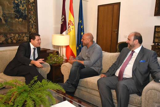 Reunión Page-Molina con el Estatuto de Autonomía y la Ley Electoral de fondo