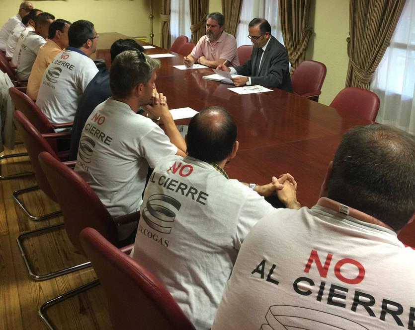 El Comité de Empresa de Elcogas se marcha de Toledo 'sin una respuesta clara' por parte de la Delegación del Gobierno