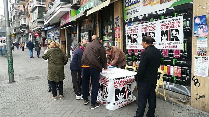 El 93% de los participantes en el 'referéndum' madrileño prefiere la República