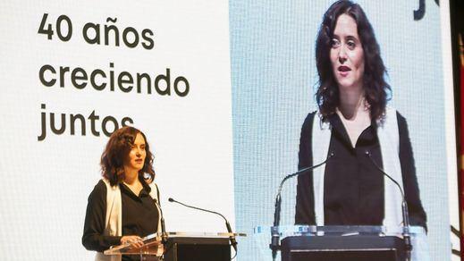 40 años de Ifema | Ayuso: 'La institución ferial es la insignia de una actitud integradora'