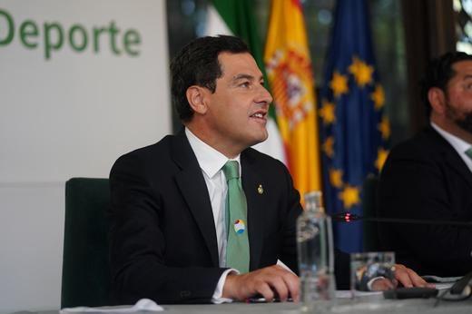Moreno resalta el potencial de Andalucía para ser la Región Europea del Deporte