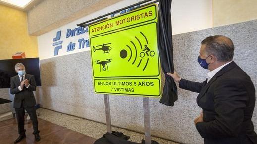Los 100 tramos de mayor riesgo para motoristas en carretera estarán ahora señalizados