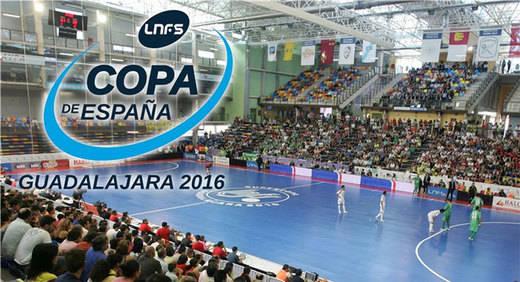 Guadalajara, sede de la Copa de España de Fútbol Sala