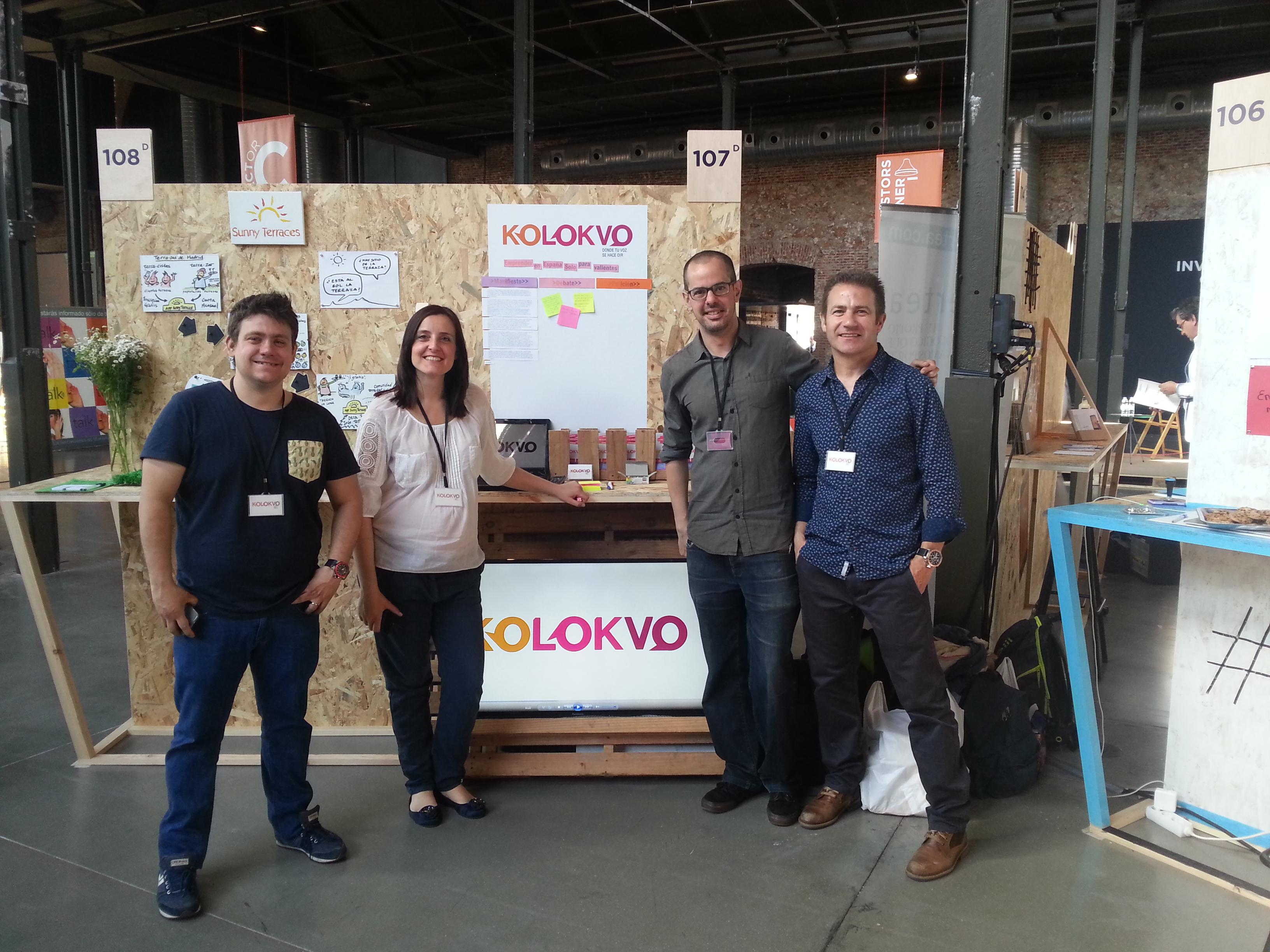 """""""Kolokvo es un espacio para plantear ideas y debatirlas"""""""
