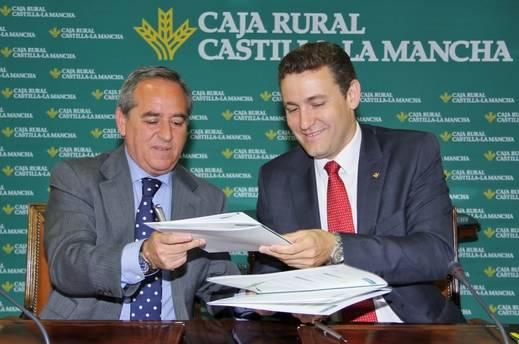 Caja Rural Castilla-La Mancha y Fedeto renuevan el convenio de colaboración de la Lonja Toledana