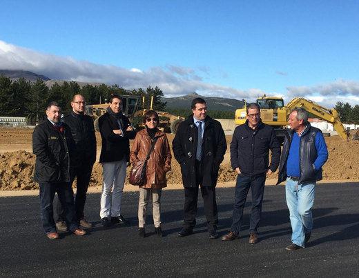 La ampliación del aeródromo de Hiendelaencina estará concluida a mediados de diciembre
