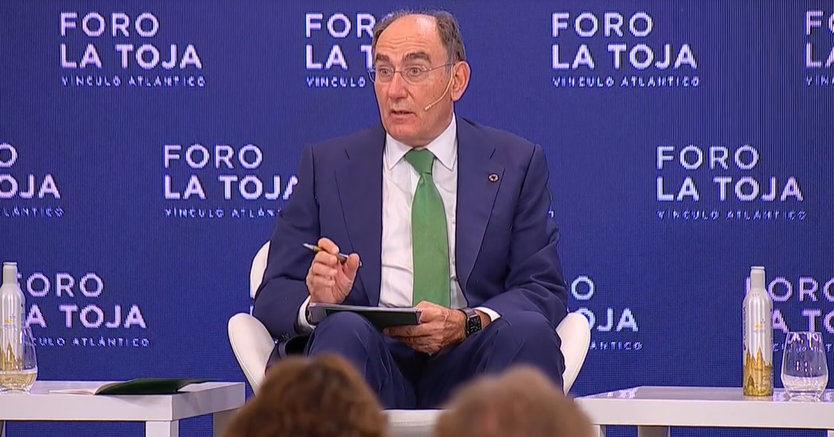 """Ignacio Galán: """"Es esencial preservar la estabilidad jurídica, no poner en entredicho el modelo europeo y no perder la confianza de los inversores"""""""