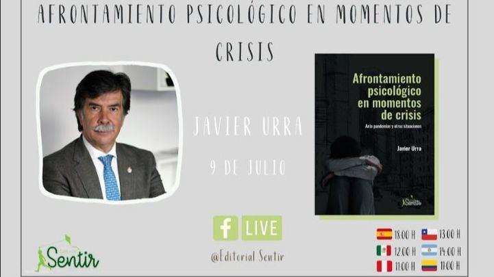 Javier Urra presenta este jueves su último libro, 'Afrontamiento psicológico en momentos de crisis'
