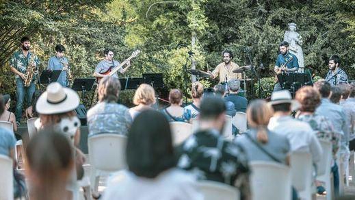 King Kom Bó debutan en Jazz Palacio Real con un vibrante concierto de Funky Jazz