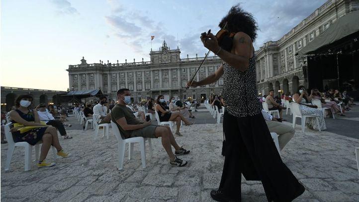 Malikian asalta el Palacio Real de Madrid