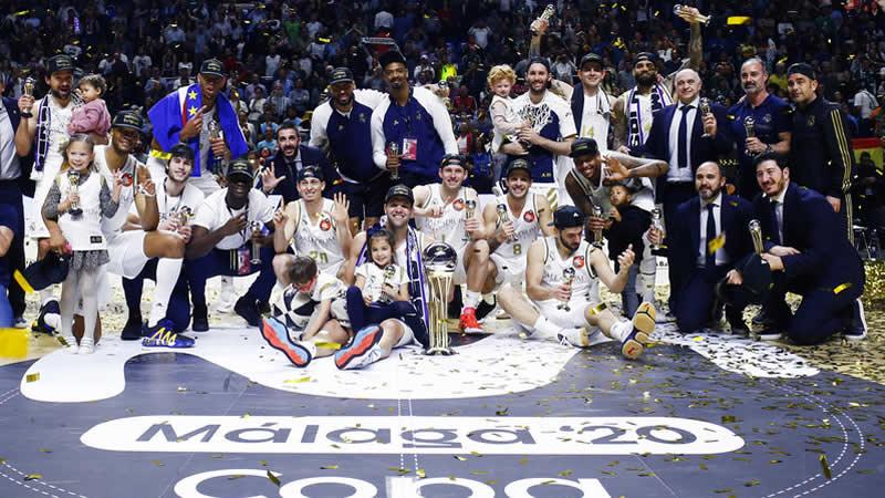 Otra Copa del Rey de baloncesto para el Real Madrid de Laso
