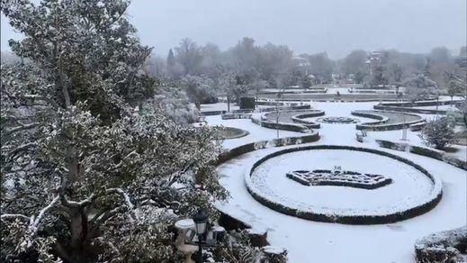 Nieva en Madrid: la borrasca Filomena ya congela casi toda España