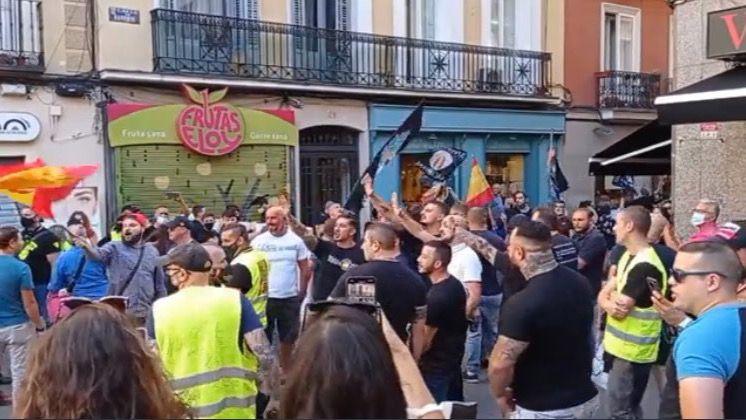 Así fue la vergonzosa manifestación homófoba en pleno centro de Madrid