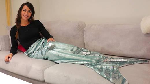 La manta de moda, la de sirena del Primark que ya tiene Cristina Pedroche