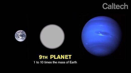 Nuevo planeta descubierto por Mike Brown y Konstantin Batygin
