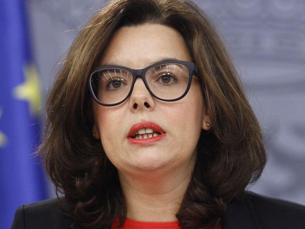 Reacciones al pacto: Sáenz de Santamaría guarda prudente silencio, el PNV no pone