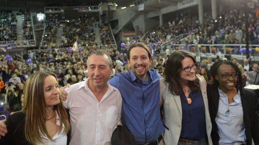 La confluencia valenciana, la primera grieta en el proyecto plurinacional de Podemos