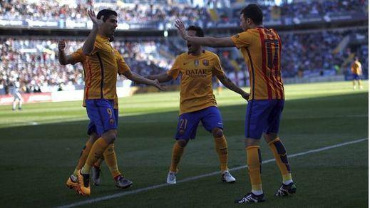 'Supermessi', (casi) siempre 'Supermessi', rescata al Barça en Málaga (1-2)