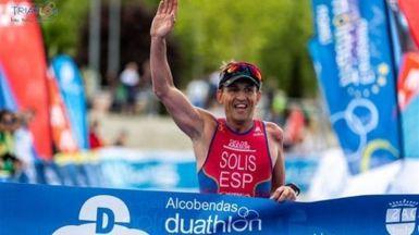 Otro ejemplo paralímpico: Rafael Solís, campeón de Europa de triatlón