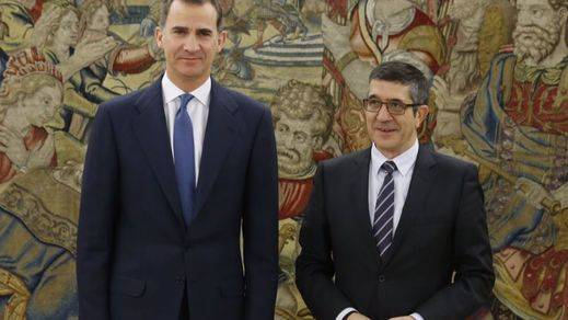 ¿Se apuntará el PP a la 'segunda ronda'? Patxi López pregunta quiénes quieren volver a ver al Rey