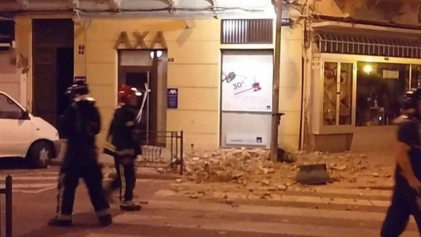Fuerte terremoto en el sur del país, con varias réplicas y daños materiales importantes
