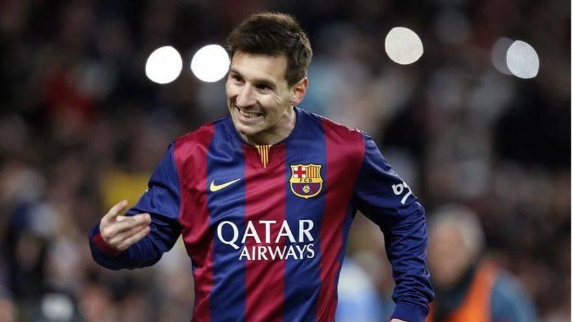 El jugador del FCB, Lionel Messi.