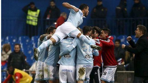 El Atleti vuelve a las andadas: eliminado de la Copa por un Celta superior (2-3)