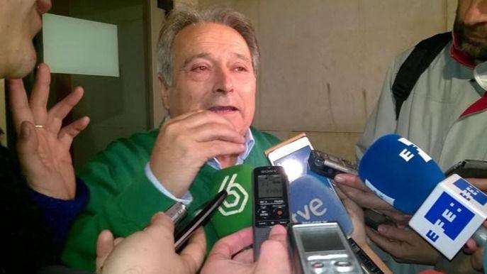 Alfonso Rus queda en libertad y denuncia un 'montaje' y 'una puesta en escena' para arruinar al PP valenciano