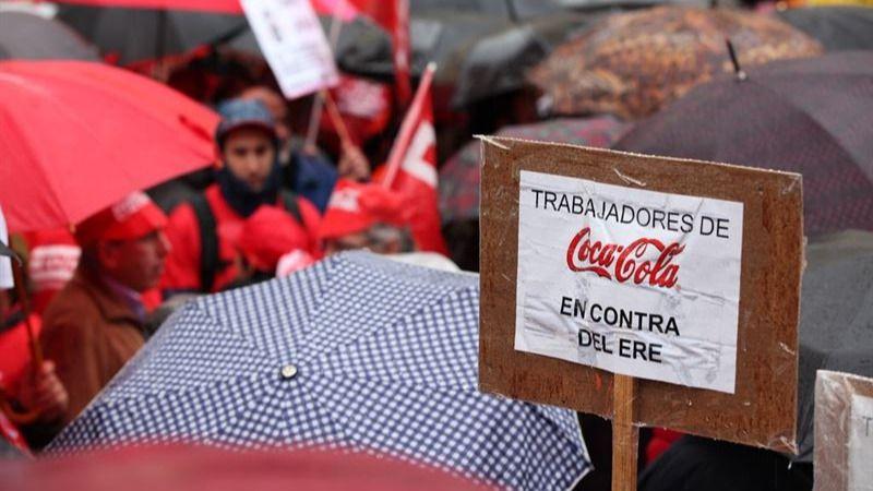 Dos años del ERE de Coca-Cola: 'Seguimos luchando, y eso que se supone que salimos airosos'