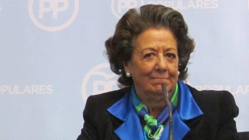 Rita Barberá se defiende: que ella 'sepa', en el Ayuntamiento de Valencia no hubo amaños ni 'mordidas'