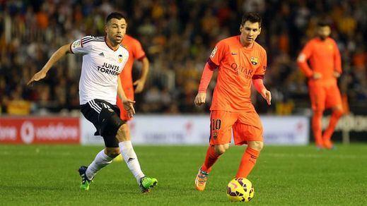 Barça-Valencia y Sevilla-Celta, semifinales de la Copa del Rey