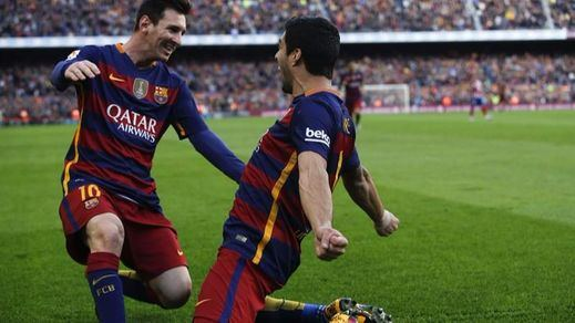 Un gran Atlético no pudo con un Barça más certero y ya más líder (2-1)