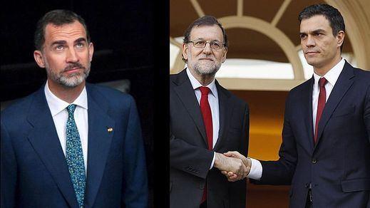 El Rey podría pedir hoy a Sánchez que intente formar gobierno ante la actitud de espera de Rajoy